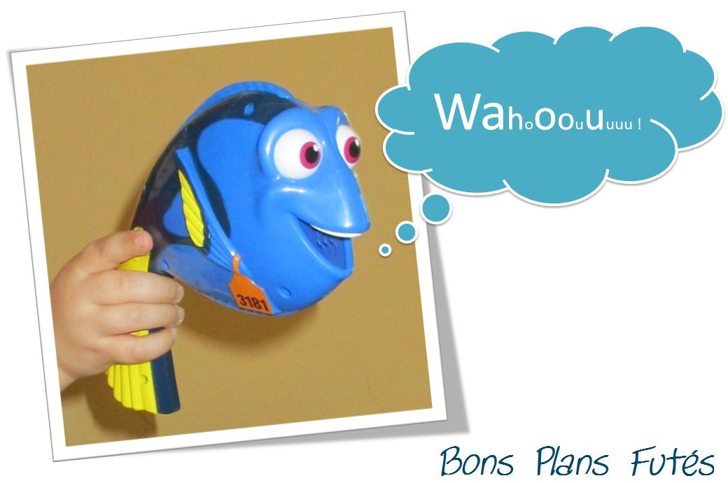 Jouet Dory parle baleine