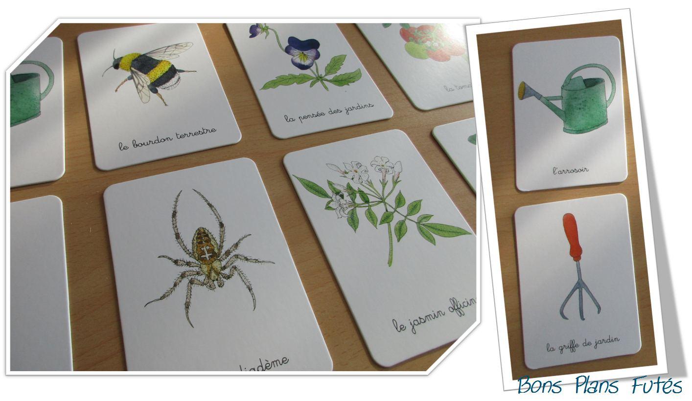 Mon coffret montessori du jardin avec nathan m thode montessori bons plans fut s - Les champignons de jardin sont ils comestibles ...