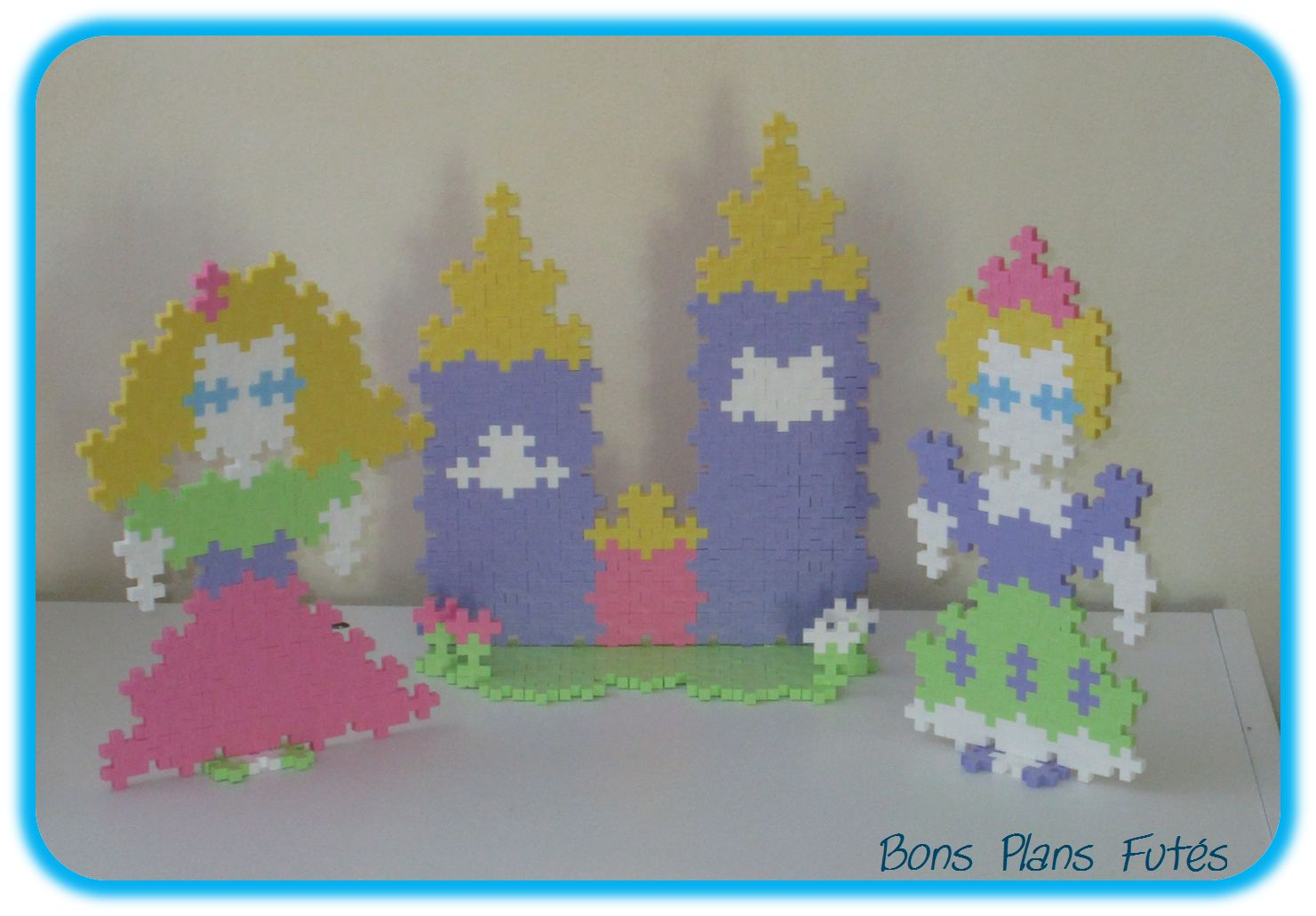 Jeu de construction Chateau Princesse Plus Plus