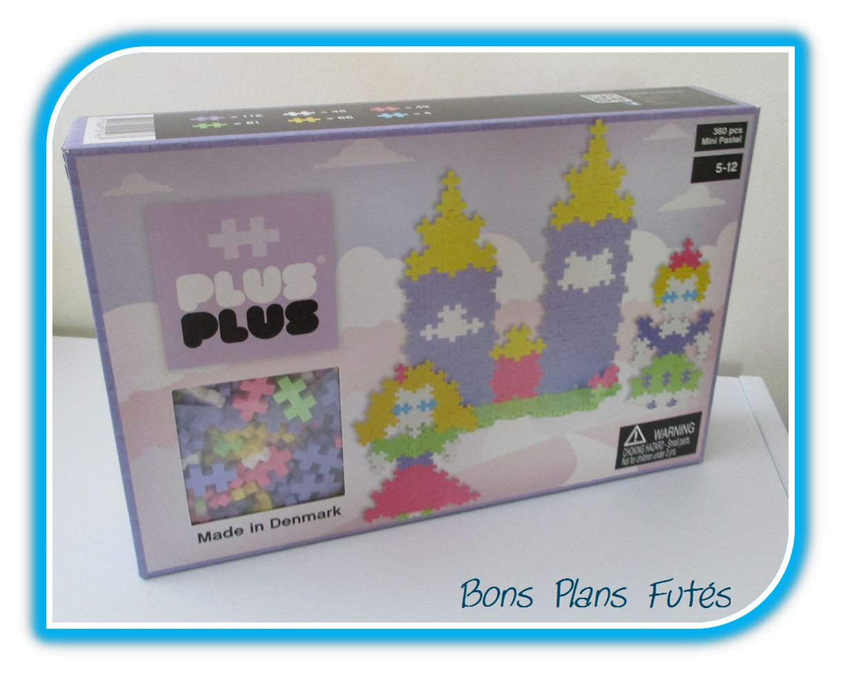 Jeu de construction Princesse Plus Plus
