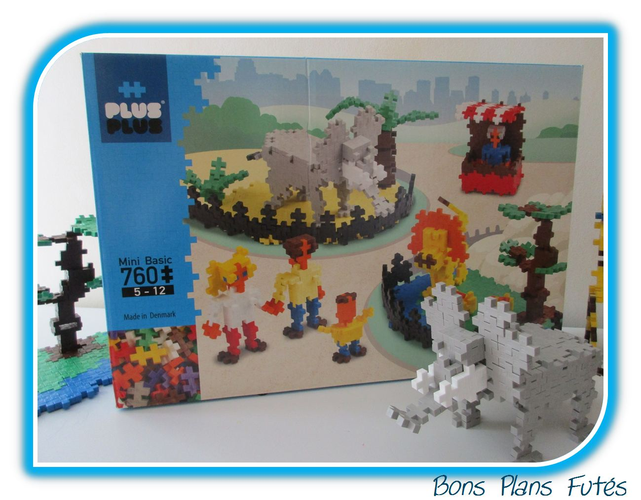 Jeu de construction zoo Plus Plus