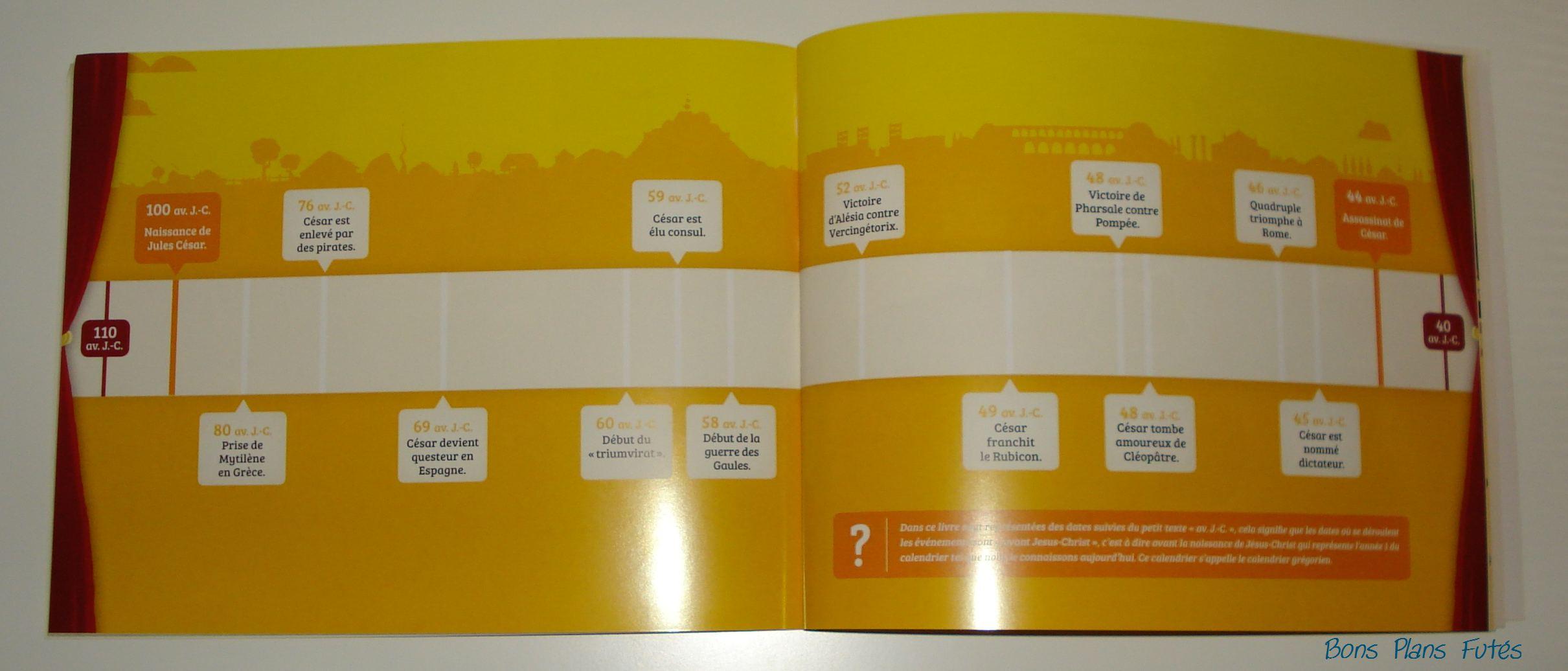 Livre de l 39 histoire et frise chronologique pour enfants - L histoire de l architecture ...